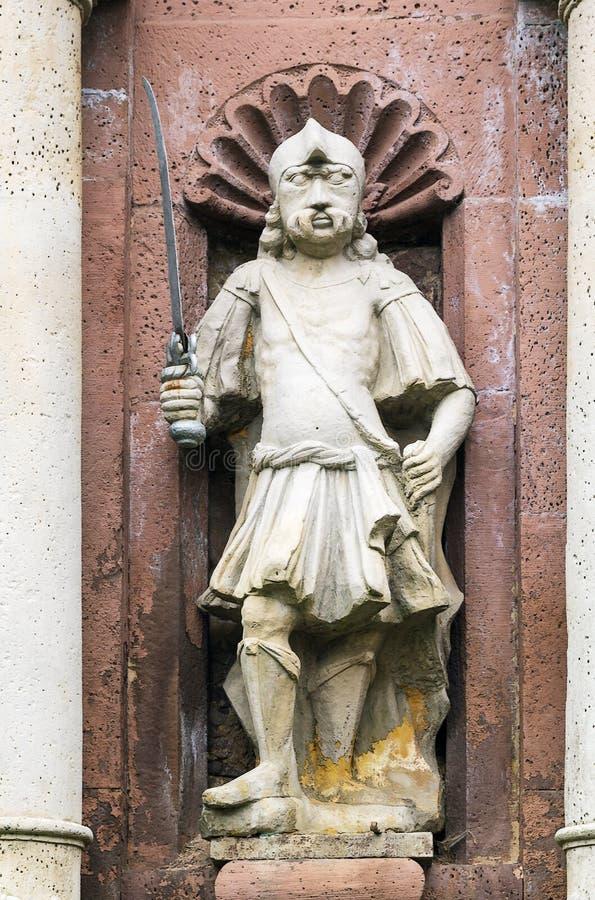Ingresso all'abbazia di Corvey, Germania fotografia stock libera da diritti