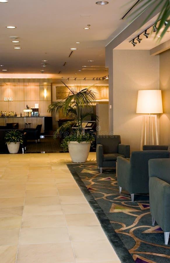 Ingresso dell'hotel immagini stock