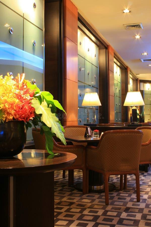 Ingresso dell'hotel a Bangkok fotografia stock libera da diritti