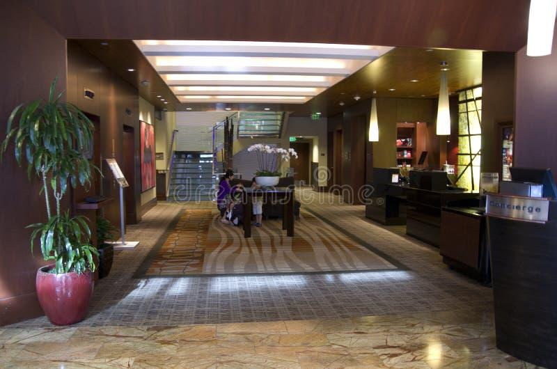 Ingresso dell'hotel Seattle 1000 fotografia stock