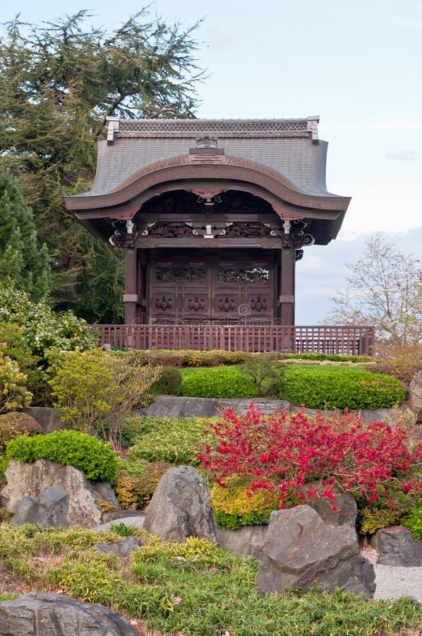Ingresso giapponese nei giardini di kew londra fotografia for Architettura tradizionale giapponese