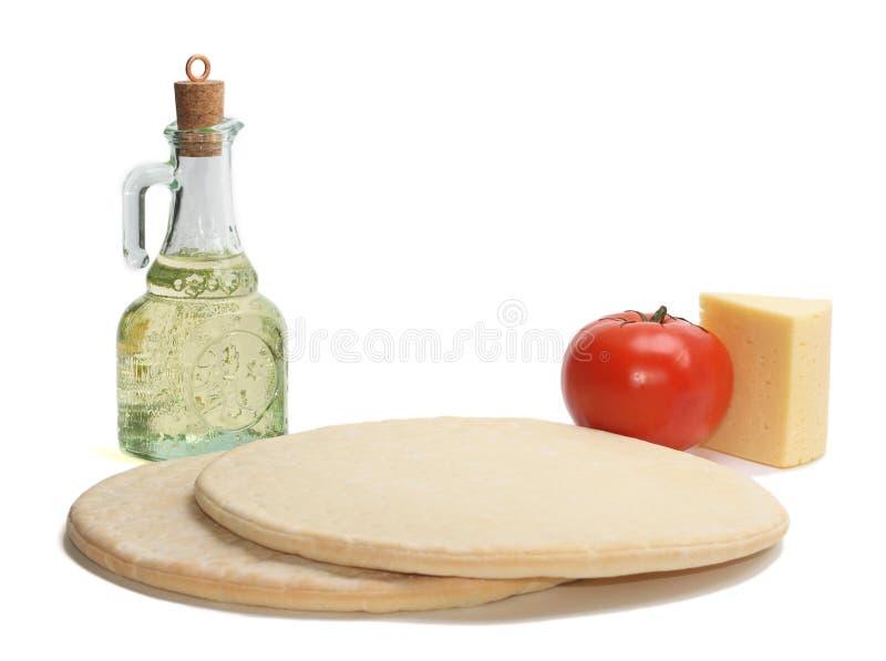 Ingridients della pizza fotografia stock libera da diritti