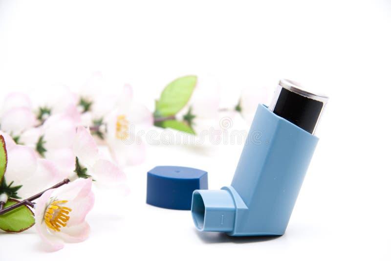 Inhalador para el aerosol fotografía de archivo