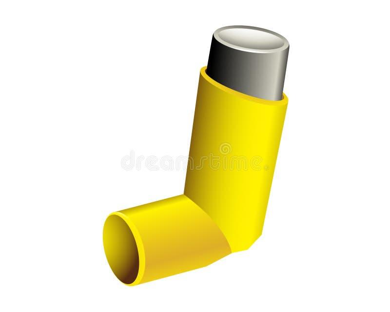 inhalateur illustration de vecteur