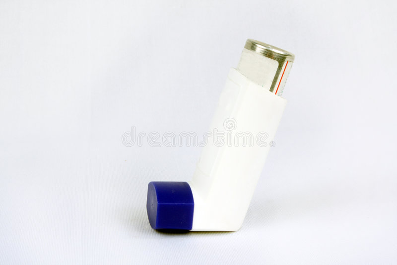 Inhalateur d'asthme photos stock