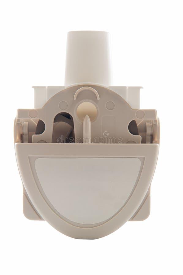 Inhalateur d'asthme de poudre photo libre de droits