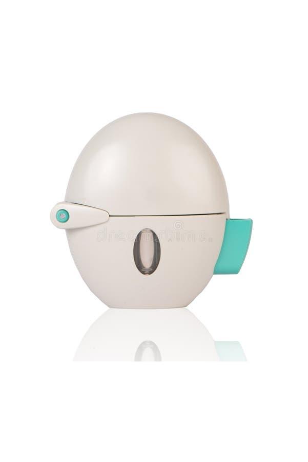 Inhalateur de poudre d'asthme image libre de droits