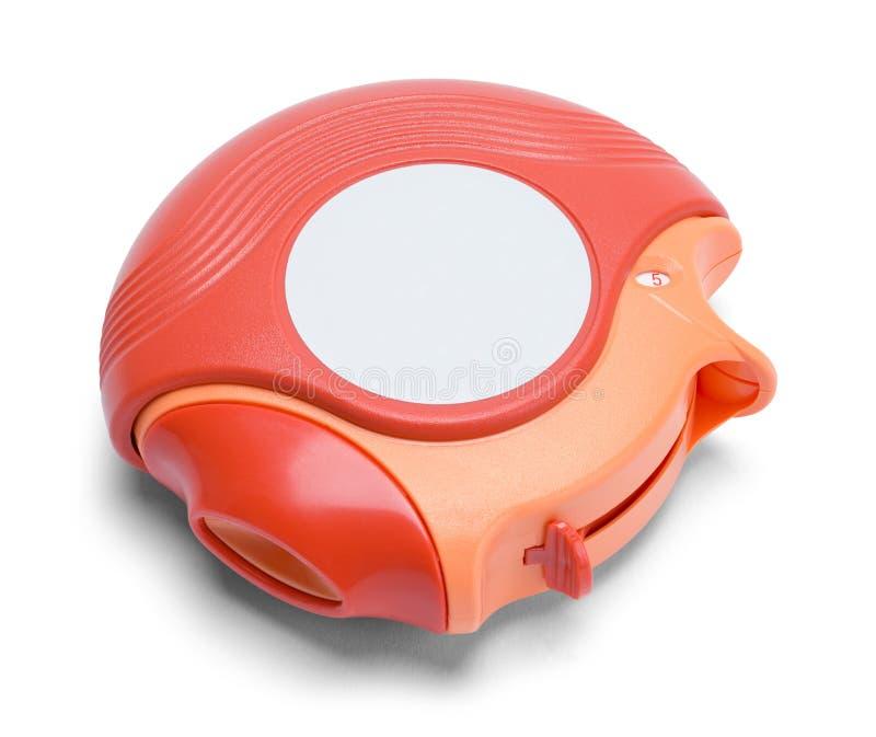 Inhalateur rond image stock
