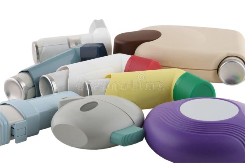 Inhalateurs image stock