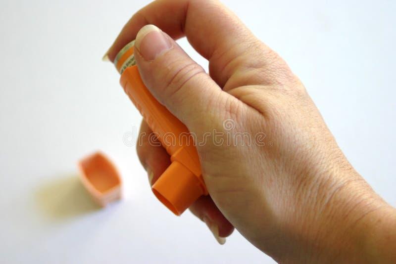 Download Inhalator zdjęcie stock. Obraz złożonej z lekarstwo, recepta - 134306