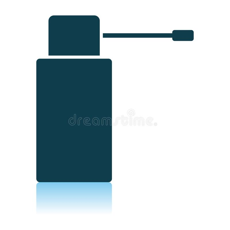 Inhalator ikona ilustracji