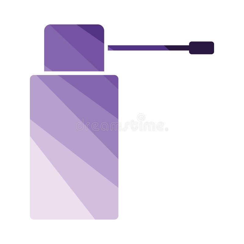 Inhalatorsymbol vektor illustrationer