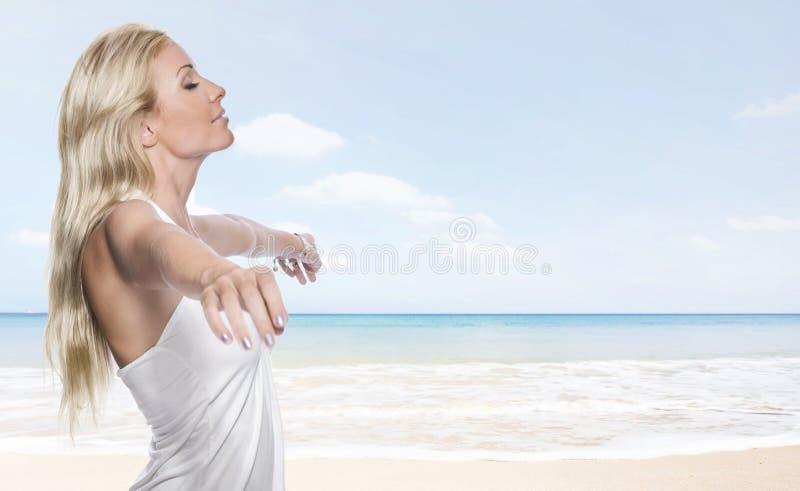 Inhaleer stock afbeelding