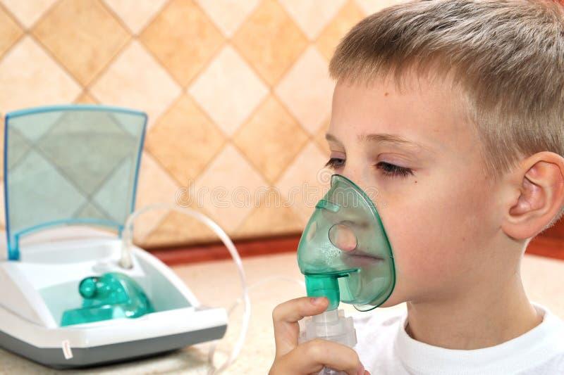 Inhaleertoestel stock foto's
