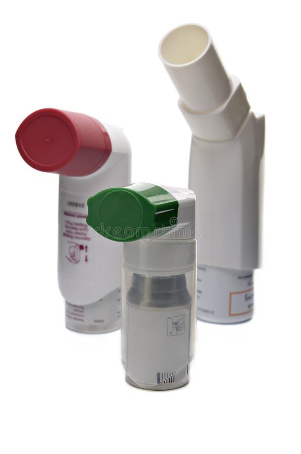 inhaler royaltyfria foton