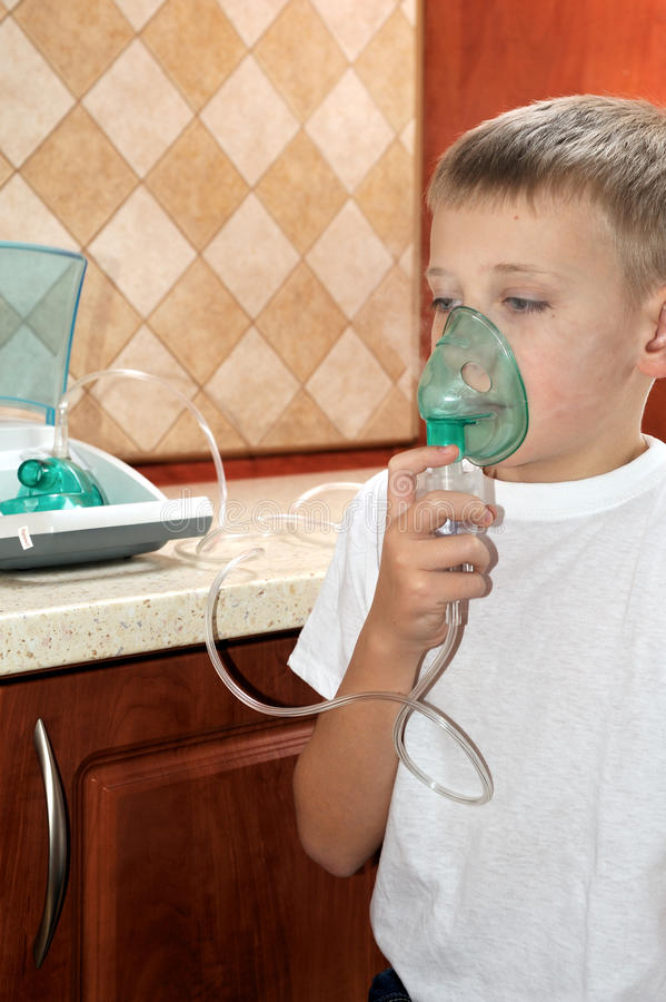 Inhaler στοκ φωτογραφία με δικαίωμα ελεύθερης χρήσης