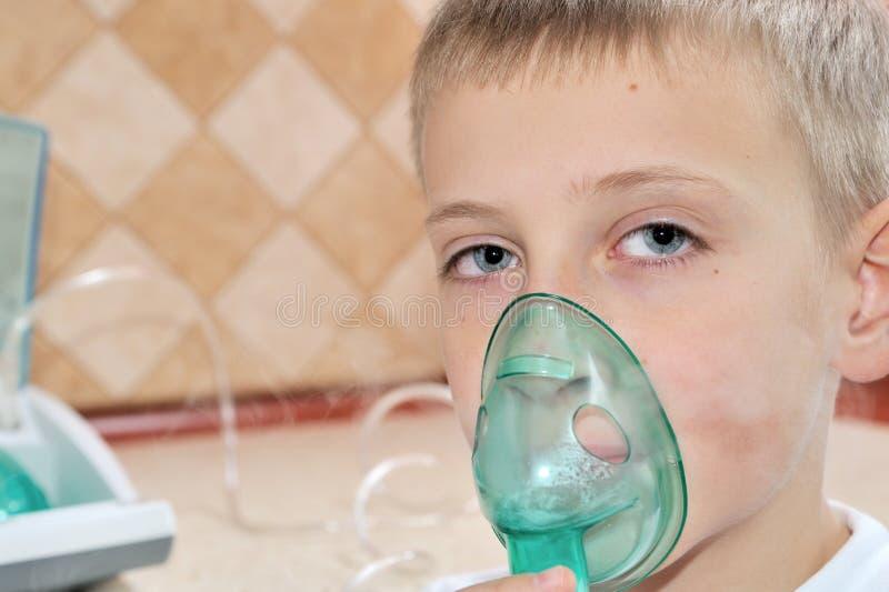 Inhaler στοκ φωτογραφία