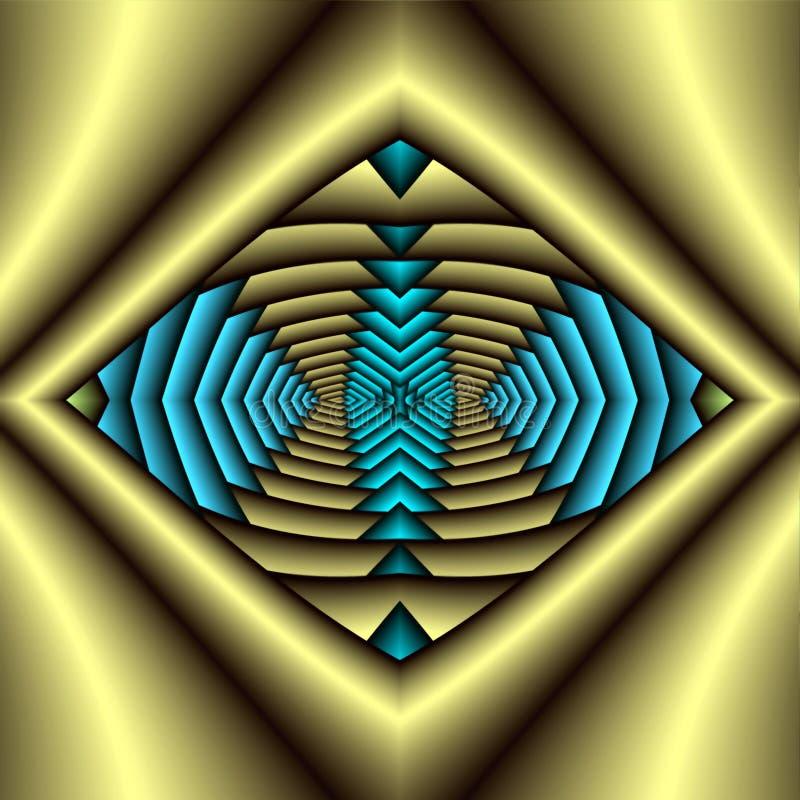 Inheems Amerikaans Symbool royalty-vrije illustratie