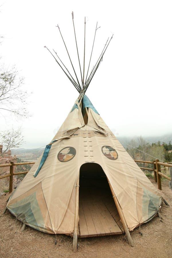 Inheems Amerikaans Tipi royalty-vrije stock afbeeldingen