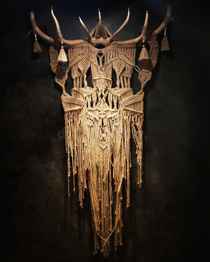 Inheems art royalty-vrije stock foto