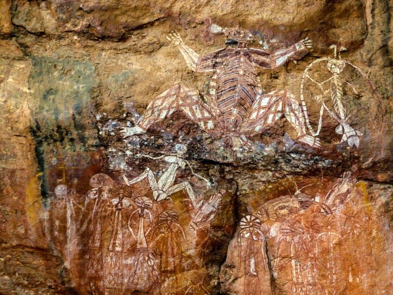 Inheems art royalty-vrije stock foto's