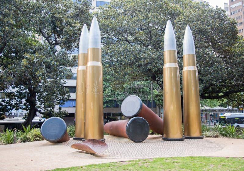 Inheems Oorlogsgedenkteken - Sydney royalty-vrije stock afbeelding