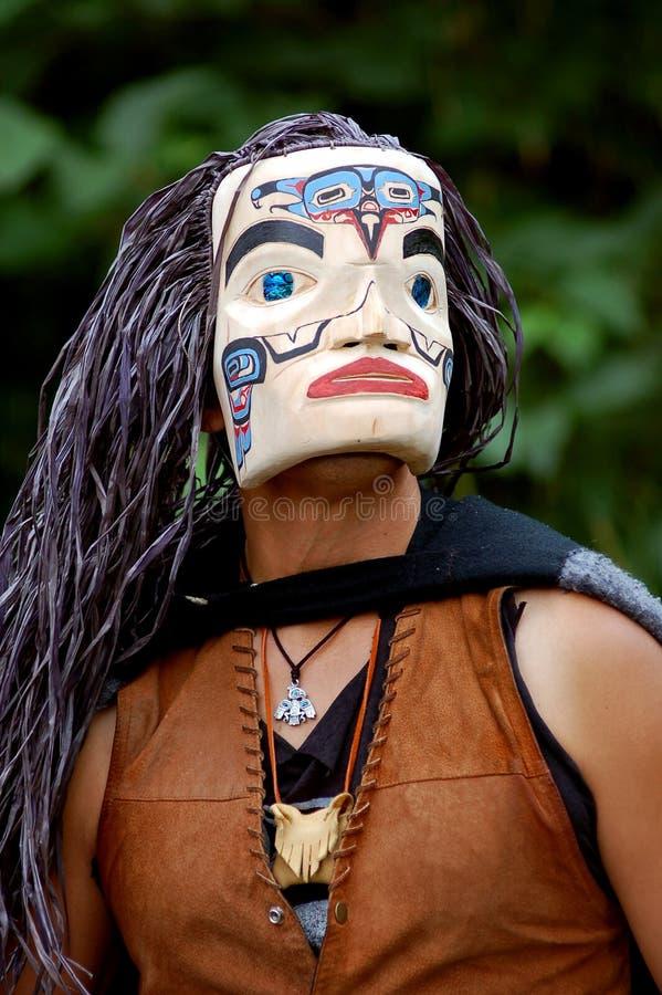 Inheemse Amerikaan stock afbeelding