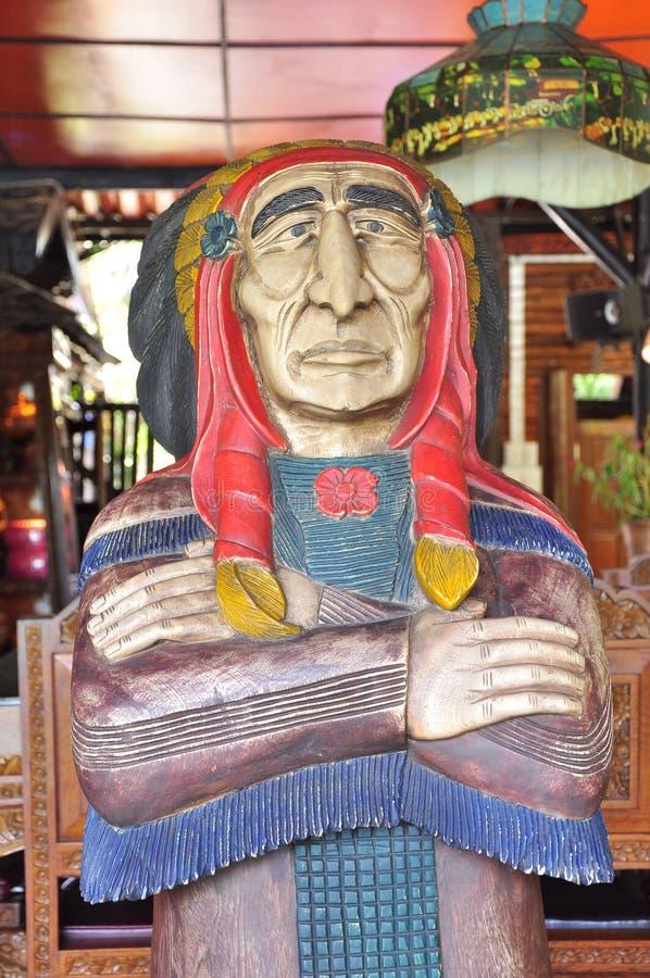 Inheemse Amerikaan voor royalty-vrije stock afbeeldingen