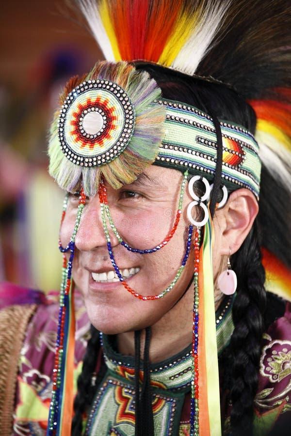 Inheemse Amerikaanse Danser stock foto's