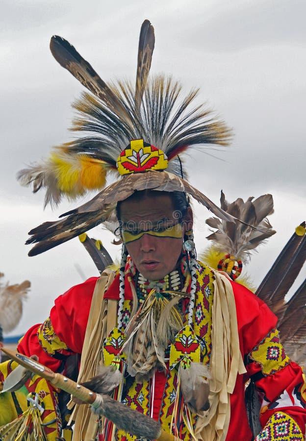 Inheemse Amerikaanse Danser #14 royalty-vrije stock afbeeldingen