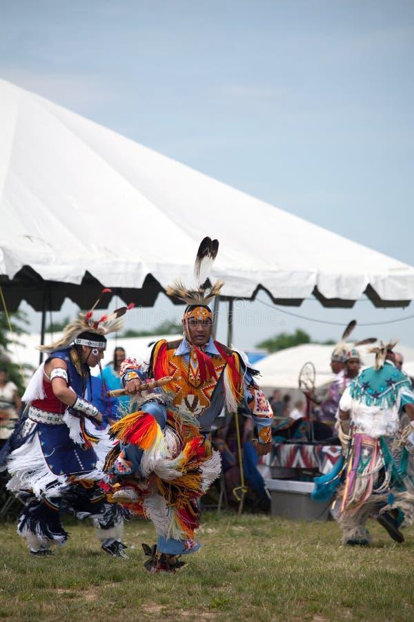 Inheemse Amerikaanse Danser royalty-vrije stock afbeeldingen