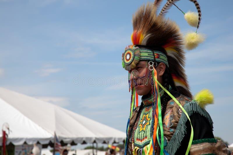 Inheemse Amerikaanse Danser royalty-vrije stock afbeelding