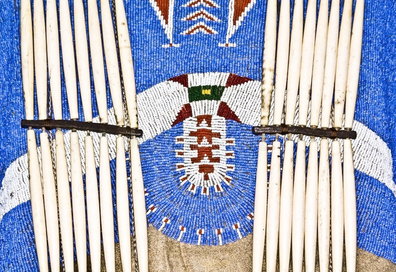 Inheemse Amerikaanse Kleding stock afbeelding