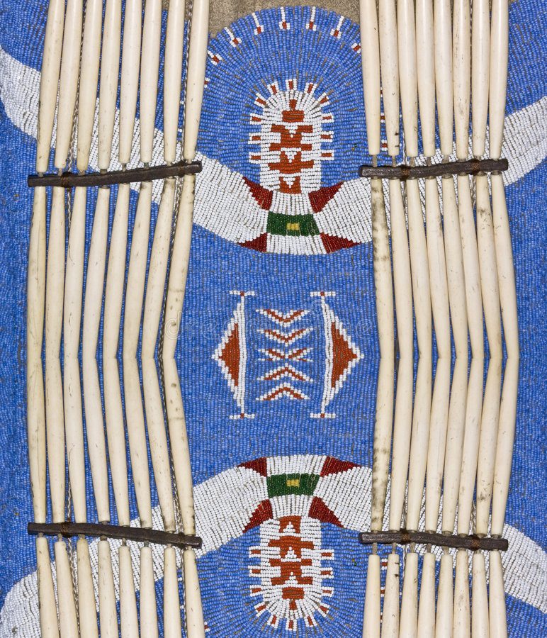 Inheemse Amerikaanse Kleding stock foto's