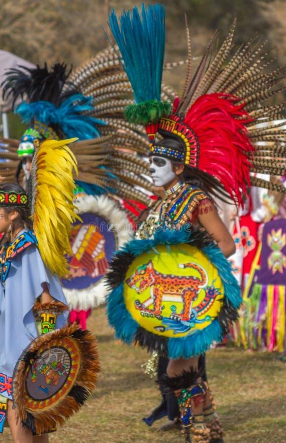 Inheemse Amerikaanse PowPow-Kleding royalty-vrije stock afbeelding