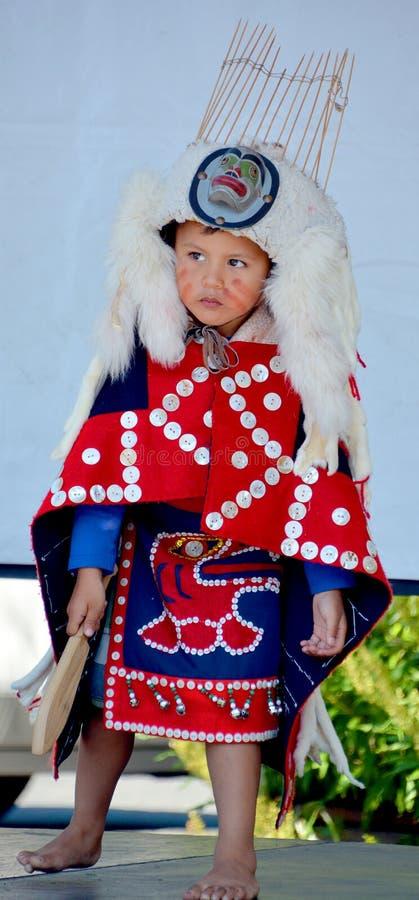 Inheemse Indische mensen stock afbeelding