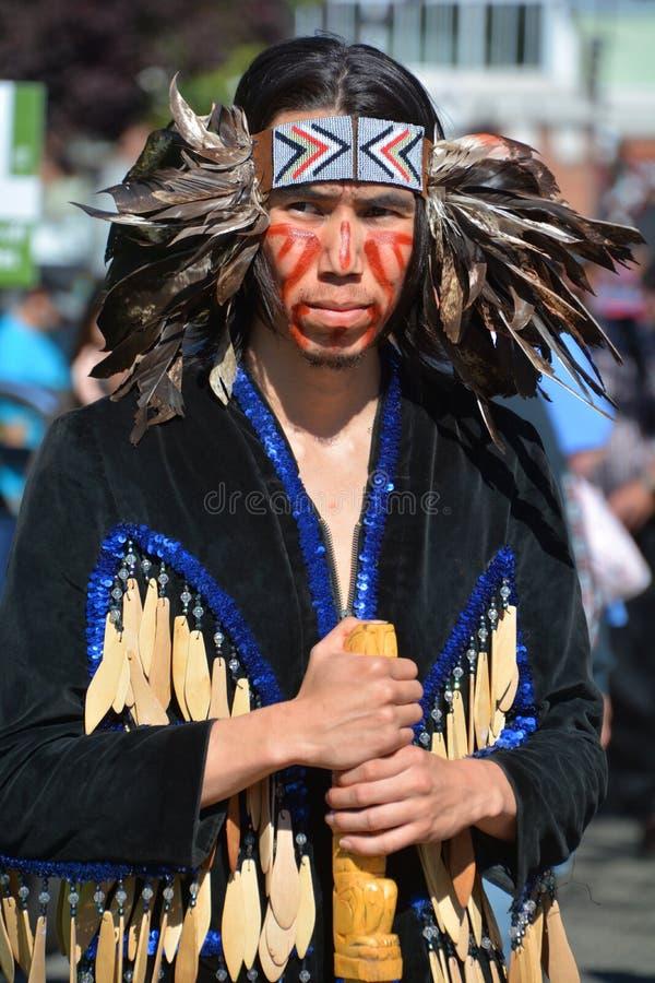 Inheemse Indische mensen stock foto's