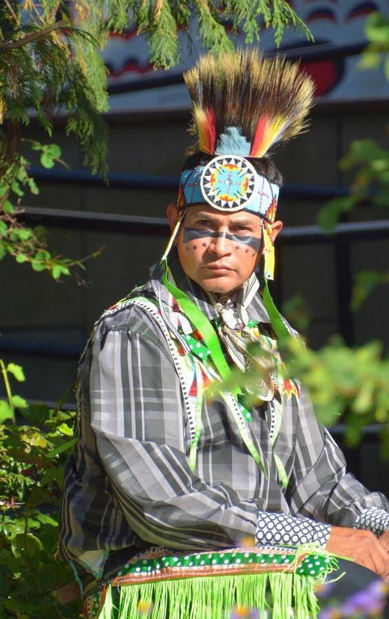 Inheemse Indische mensen stock afbeeldingen