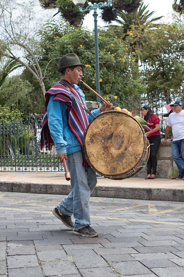 Inheemse jonge kichwamens bij Corpus Christi Ecuador royalty-vrije stock foto
