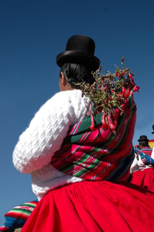 Inheemse Vrouw stock foto's