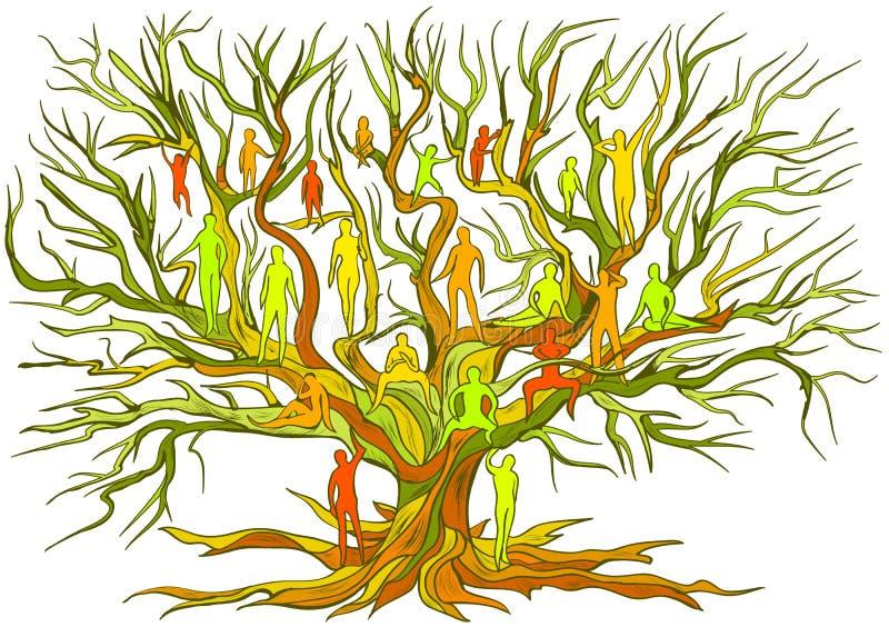 inheritance ilustração stock