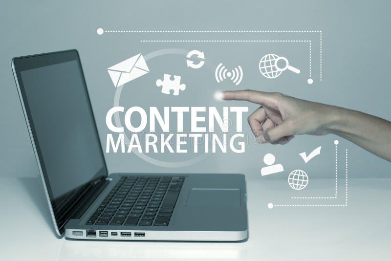 Inhoud Marketing stock foto's
