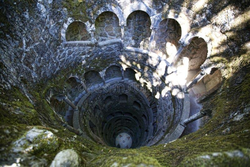 Iniciatic bien en Quinta da Regaleira, Sintra, Portugal, 2012 photos libres de droits