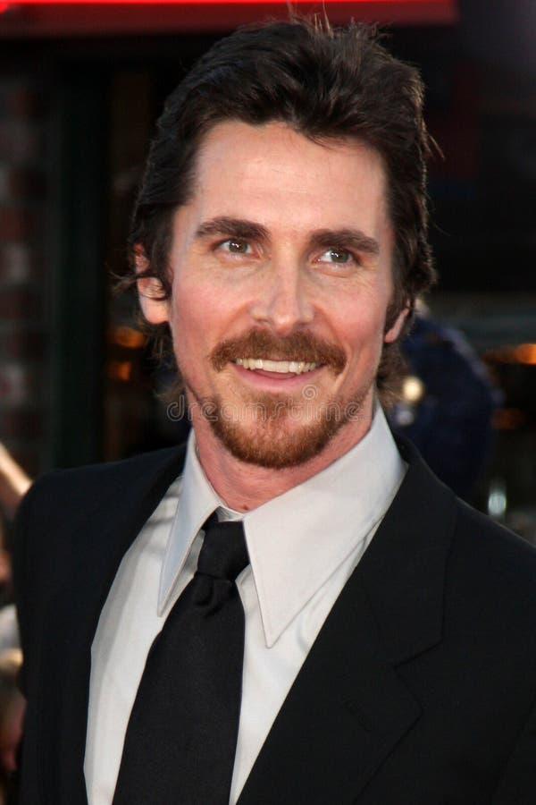 Inimigo público, Christian Bale fotografia de stock