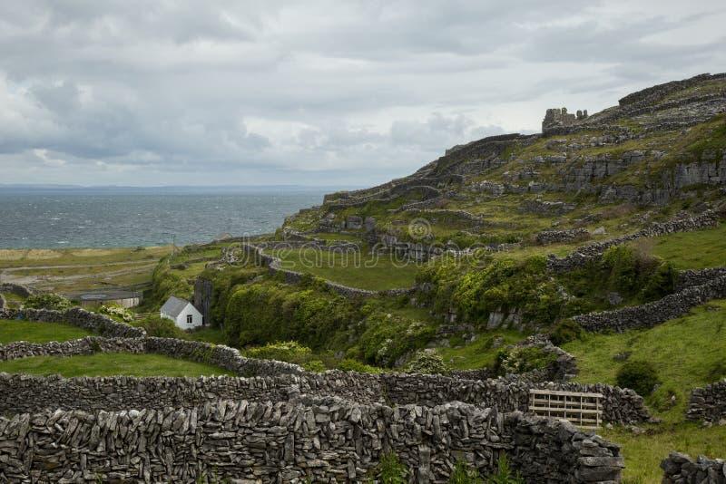 Inisheer, îles d'aran, Irlande images stock