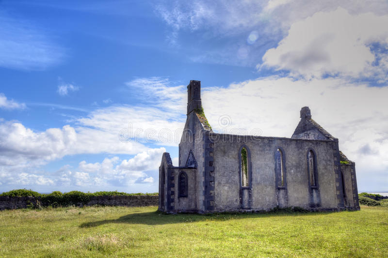 Inishmore on the Aran Islands. Located in the mouth of Galway Bay, in western Ireland stock images
