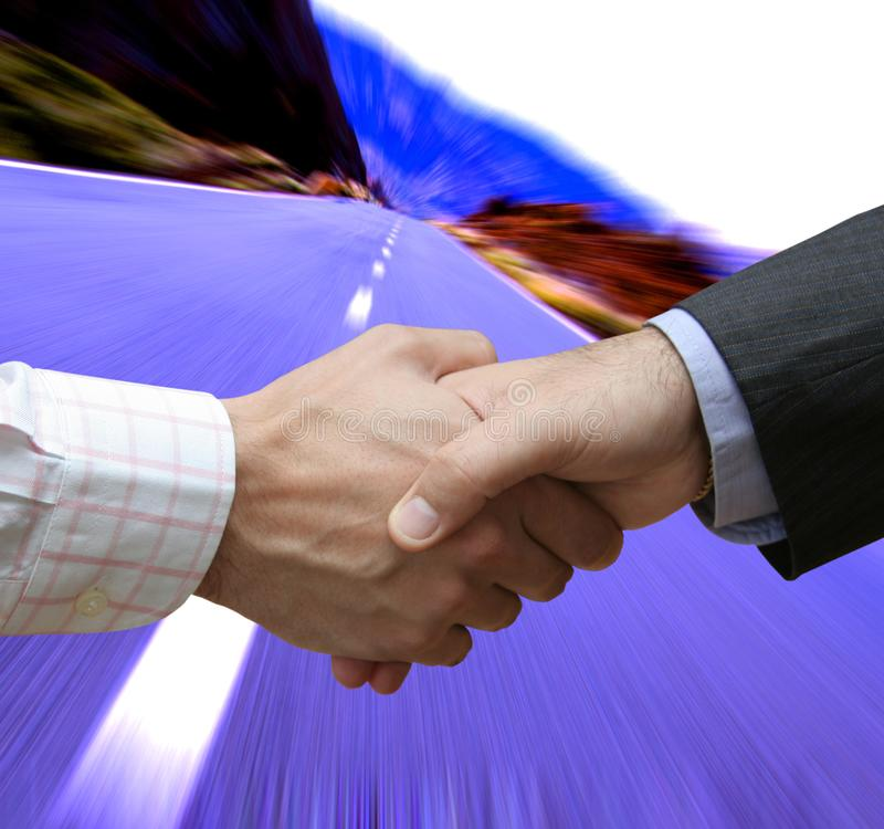 Initial Deal Free Stock Photo