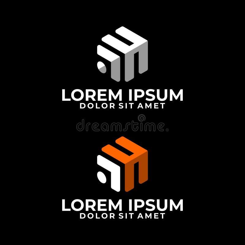 Cube Logo Stock Illustration. Illustration Of Pictogram