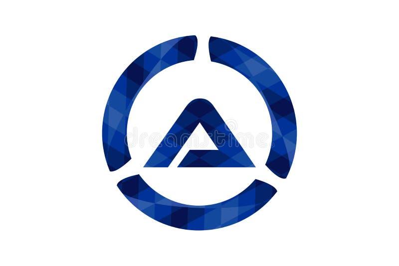 Initial Letter A Logo Designs Inspiration, Vector Illustration. royalty free illustration