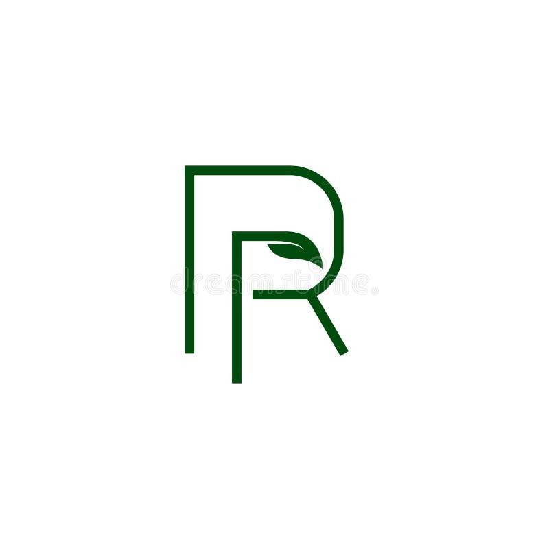 Abstract Monogram Letter P Logo Line Icon Design Vector
